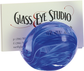 Blue Glass Eye Business Card Holder from Bakanas Florist & Gifts, flower shop in Marlton, NJ