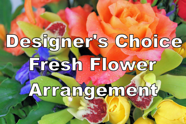 Designer's Choice Fresh Flower Arrangement from Bakanas Florist & Gifts, flower shop in Marlton, NJ