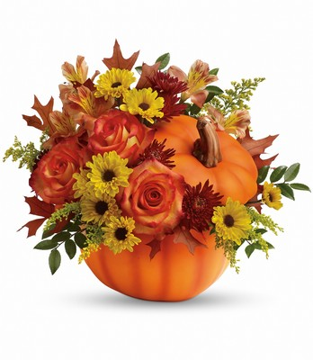 Warm Fall Wishes Bouquet from Bakanas Florist & Gifts, flower shop in Marlton, NJ