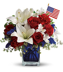 America the Beautiful from Bakanas Florist & Gifts, flower shop in Marlton, NJ