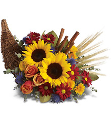 Classic Cornucopia from Bakanas Florist & Gifts, flower shop in Marlton, NJ