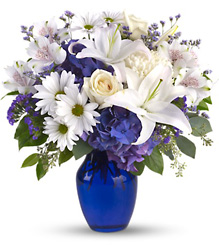 Beautiful in Blue from Bakanas Florist & Gifts, flower shop in Marlton, NJ