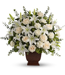 Loving Lilies and Roses Bouquet from Bakanas Florist & Gifts, flower shop in Marlton, NJ