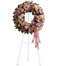 Graceful Wreath from Bakanas Florist & Gifts, flower shop in Marlton, NJ