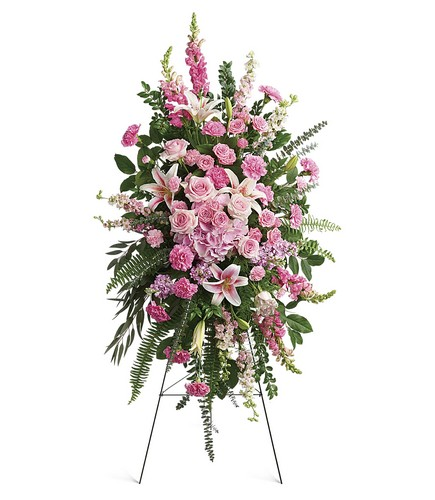 Glorious Farewell Spray from Bakanas Florist & Gifts, flower shop in Marlton, NJ
