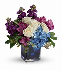 Teleflora's Portrait in Purple Bouquet from Bakanas Florist & Gifts, flower shop in Marlton, NJ