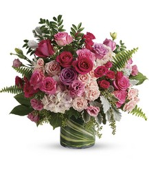 Haute Pink Bouquet from Bakanas Florist & Gifts, flower shop in Marlton, NJ