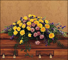 Eternal Hope Casket Spray from Bakanas Florist & Gifts, flower shop in Marlton, NJ