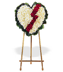 Broken Heart from Bakanas Florist & Gifts, flower shop in Marlton, NJ