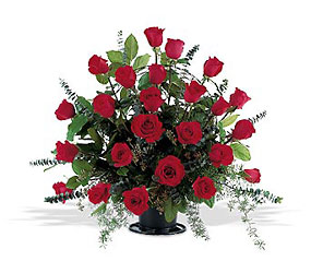 Blooming Red Roses from Bakanas Florist & Gifts, flower shop in Marlton, NJ