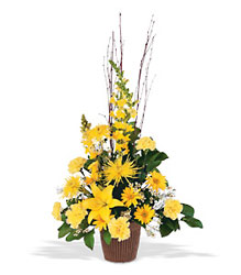 Brighter Blessings Arrangement from Bakanas Florist & Gifts, flower shop in Marlton, NJ